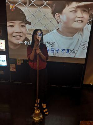 2nd round, Karaoke...