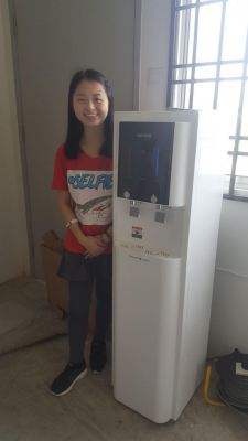 Water Purifier Queenstand (Hot, Cold and Room) installed at Taman Impian Emas, Skudai, Johor