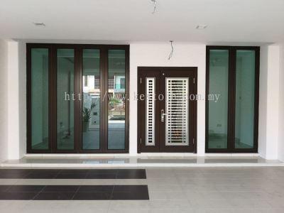 Aluminium Door & Windows - Mutiara Rini