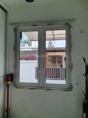 Aluminium Door & Window - Horizon Hills - Jalan Ambang