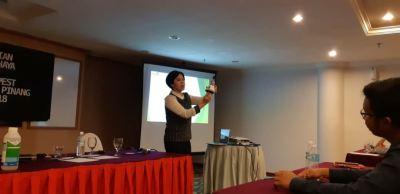 Presentation for Selontra and BaitSafe at Majlis Perbandaran Pulau Pinang