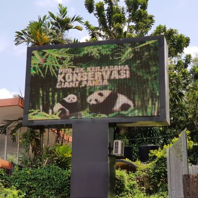 Led Screen at Zoo Negara