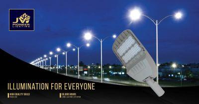 JV Pioneer LED Street Light DELUXE series