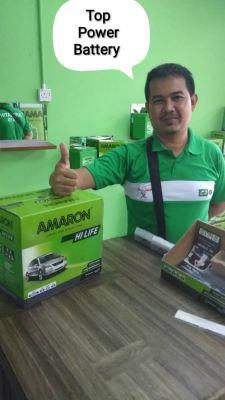 #amaron #thanksforsupport #kampungmelayusubang #bateri #madeinindia #green #toppowerbattery