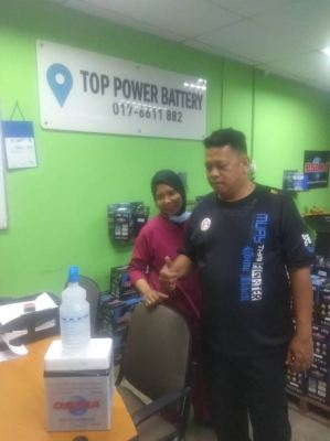 Osima Batteries Authorised Dealer @ Top Power Battery #kgmelayusubang #carbattery #bateri #freedelivery