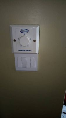 install ceiling light and replace light switch