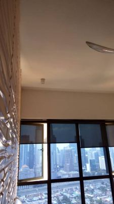 Install down light at setia sky residences