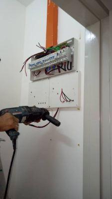 Install sub meter at MKH Avenue Sofo, kajang