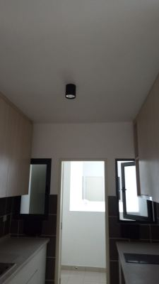 install lighting and fan