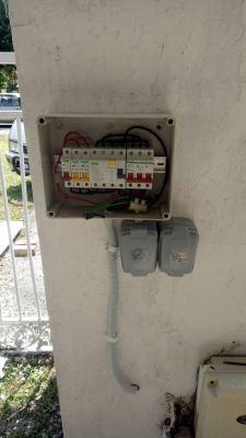 Repair tnb meter box wiring