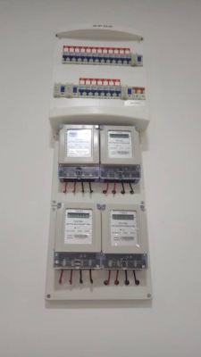 Install sub meter for air cond at The hamilton condo wangsa maju