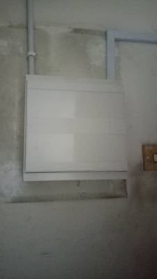 Replace old fuse box with new DB box