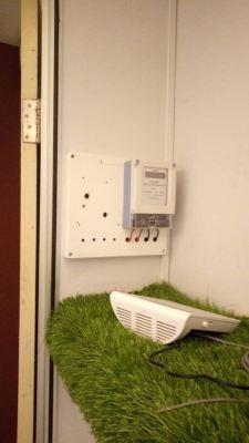 install sub meter
