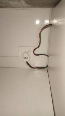 Checking short circuit wiring and replace oven wiring and socket