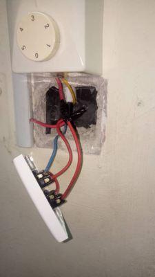 replace damaged switch at suriamas condo