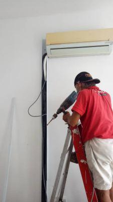 Install sub meter and relocate switch at suria jaya e-sofo, padang jawa