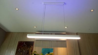 Install pendent light at kiaraville condo, mont kiara