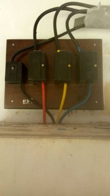Install TNB city off fuse  at Gombak road batu12