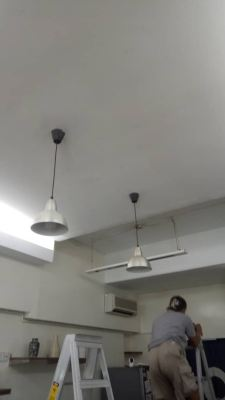 Replace lighting and install power point for CCTV at Taman tun Dr Ismail