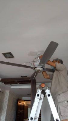 Install fan point and hook, install ceiling fan at kelana jaya condo