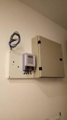 Install sub meter at studio unit for dual key condo at Glenmarie Shah Alam