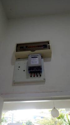 Install sub meter for dual key unit at petaling jaya