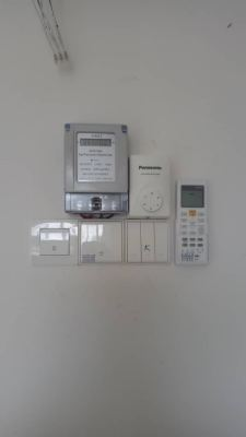 Install sub meter for calculate air cond usage at Tropicana Height Kajang