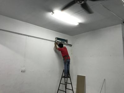 AirCond, Partitoin And Wiring Work At SetiaWangsa Business Suites @ 22/08/19 - 26/08/19