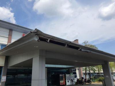 Aluminum Composite Panel Repair @ 04/09/21 - 08/09/21