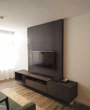 TV Panel & Low Cabinet
