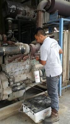 Generator Repair Job in Progress