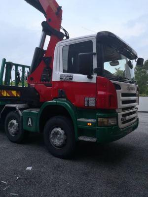Load and Unload Generator Arrived At Factory Workshop