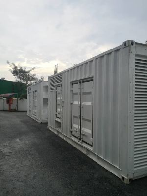 New Arrival Genset for Rental Unit Cummins Engine KTA38G5 X 2 Units at Ipoh Office