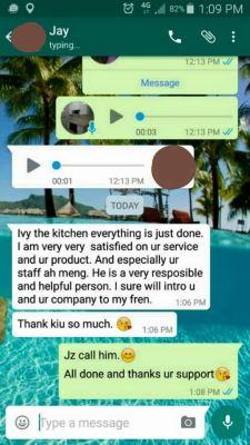 Happy Client - Ms.Jay Heng@One Damansara Condo