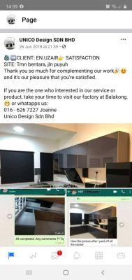 Happy Client - En Uzair@Taman Bentara