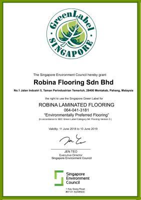 Green Label Renewal Application