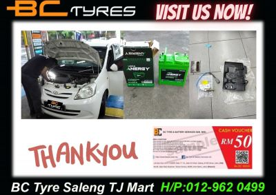 Thx for choosing #BctyreSalengTjMart