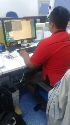 IT setup @ demo to customer @klangvalley