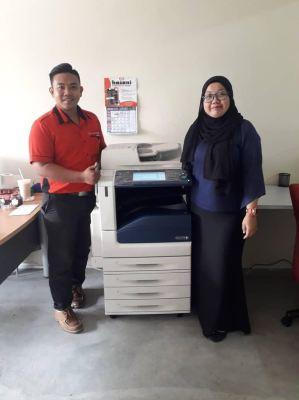 Fuji Xero Photocopy Machine Service In Selangor, Malaysia
