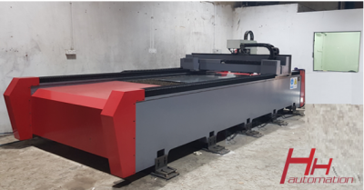 Medium Duty 1kw Fiber Laser with IPG (USA)