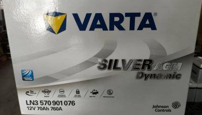 VARTA AGM BATTERY # KIA OPTIMA K5 #DIN 70 AGM
