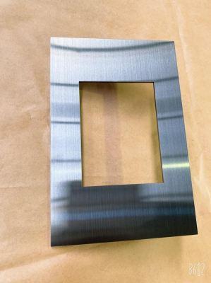 PVD Titanium Black Hairline Faceplate