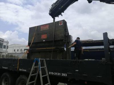 Delivery of Used Pressbrake / Bending Machine