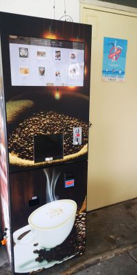 latest android coin operated coffee machine
