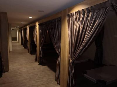 Massage Spa Curtain Project
