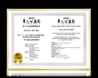 Chinese Public Welfare Golden Award