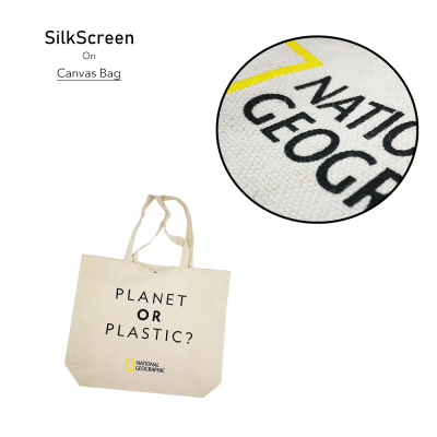 Canvas Bag - Silkscreen