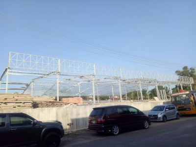 Roof Structure at Songmart Kluang, Johor