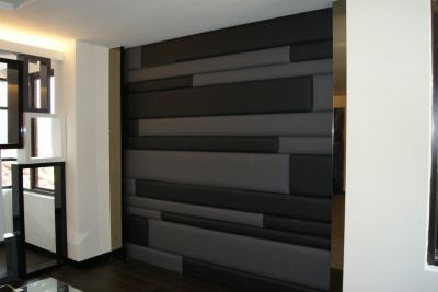 Wall Panel , Bed Head Upholstery ,Sheer with Curtain