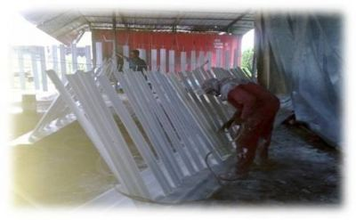 Bahru Stainless Sdn Bhd Louvers Painting